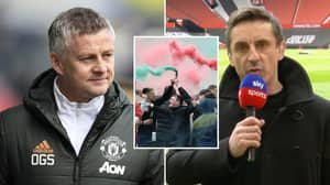 Ole Gunnar Solskjaer Is 'Unhappy' With Gary Neville's Passionate Anti-Glazer Stance And Wants It 'Toned Down'
