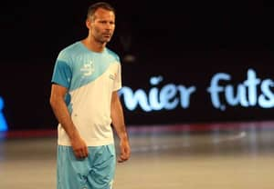 WATCH: Ryan Giggs Scores His First Goal In Premier Futsal