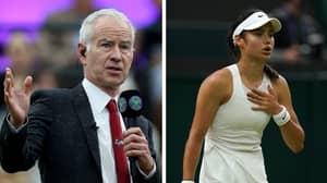 John McEnroe Under Fire For Remarks About Teenage Tennis Player Emma Raducanu