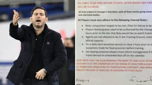 Frank Lampard's Incredible List Of Fines Imposed At Chelsea