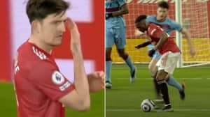 "Manchester United Captain Harry Maguire Heard Shouting At Aaron Wan-Bissaka: ""F**king Tidy Up"""