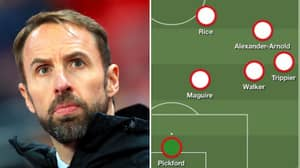 Gareth Southgate Picks Three Right-Backs And Two Defensive Midfielders Against Belgium