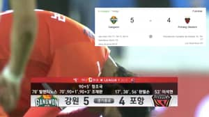 K-League Side Gangwon FC Produce The Greatest Comeback Of All Time