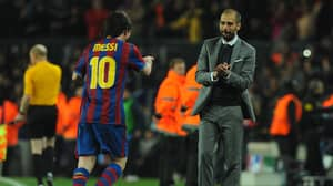 Pep Guardiola's Brilliant Response When Asked If Karim Benzema Is On The Same Level As Lionel Messi