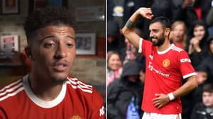 Manchester United Fans Are Loving What Jadon Sancho Has Said About Bruno Fernandes Link-Up