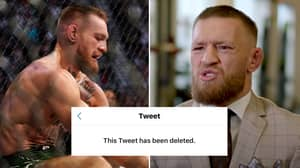 """""""I Don't Know What Is Getting Deleted Quicker, Conor McGregor's Tweet Or His Legacy"""""""