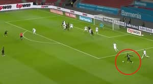 Leon Bailey Scores Outrageous First-Time Curled Effort For Bayer Leverkusen Vs Hoffenheim