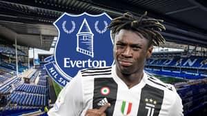 Everton 'In Talks To Sign' Juventus Striker Moise Kean
