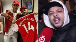 Pierre-Emerick Aubameyang Told To Stop Inviting Troopz From AFTV Into His Executive Box