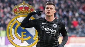 Real Madrid Confirm Signing Of Eintracht Frankfurt Striker Luka Jovic For £62 Million