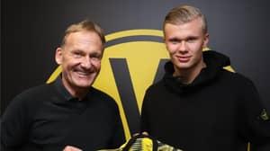 Borussia Dortmund Announce Signing Of Erling Haaland