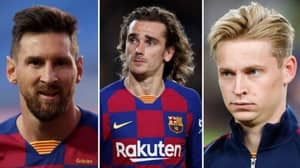 Only Five Players Are Not On Barcelona's Transfer List