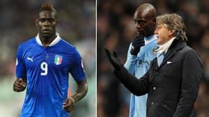 Roberto Mancini Planning On Recalling Mario Balotelli To The Italy Team