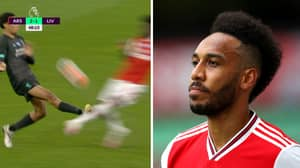Pierre Emerick-Aubameyang Can't Believe VAR Wasn't Used For Trent Alexander-Arnold Tackle