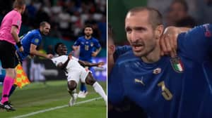 Giorgio Chiellini Claims He 'Put A Curse' On Bukayo Saka Before His Penalty