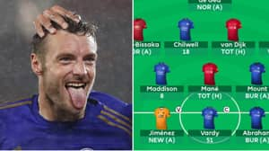 Fantasy Premier League User Triple Captained Jamie Vardy And Scored 51 Points