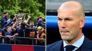 Zidane Explains Why Real Madrid Won't Give Barcelona A Guard Of Honour