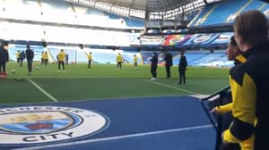 Erling Haaland Excites Man City Fans With His Reaction To Entering The Etihad
