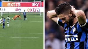 Roberto Gagliardini Definitely Had The Miss Of The Season For Inter