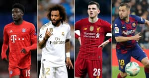 The 10 Best Left-Backs In World Football Right Now Have Been Ranked