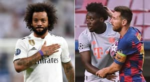 Marcelo Has Reacted To Alphonso Davies' Superb Performance Against Barcelona