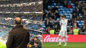 There Were 30,000 Empty Seats At The Bernabeu Last NIght As Real Madrid Lose Again