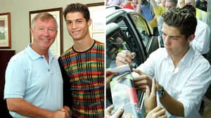 16 Years Ago: Cristiano Ronaldo Signed For Manchester United And The Rest Is History