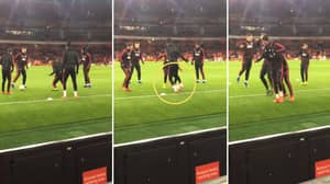 What Marcus Rashford Did To Fred In The Warm-Up Should Genuinely Be Illegal
