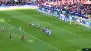 Antoine Griezmann Almost Breaks The Net With Thunderous 25-Yard Free-Kick