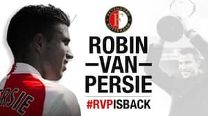 Robin Van Persie Re-Signs For Feyenoord