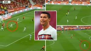 Cristiano Ronaldo Incredibly Sprinted Box-To-Box In Just 10 Seconds In 87th Minute Of Spain Vs Portugal