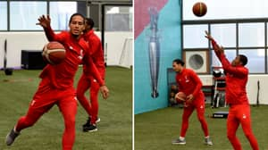 Fans Joke That Liverpool Can Play Basketball Instead Of Training For Manchester United Game