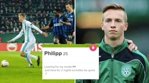 Rapid Wien Player Hits Tinder To Find 'Model' On Two-Day Europa League Trip To Milan