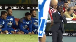 Deportivo Substitutes Are All Impressed With Clarence Seedorf's Brilliant Touch