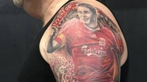 Liverpool Fans Gets Incredible Club Legends Tattoo On His Arm
