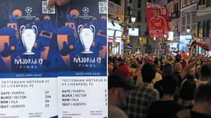 Liverpool Fan Sells His Champions League Final Ticket For £10,000 In Cash