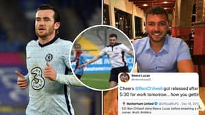 Lad's Tweet About Getting Released After Getting Skinned By Ben Chilwell In 2013 Goes Viral