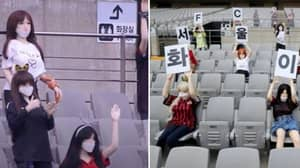 FC Seoul Slapped With Record Fine For Placing 'Sex Dolls' In The Stands