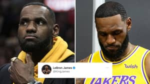 LeBron James' Controversial Now-Deleted Tweet Targeting Police Officer Leads To Fans Calling For Sponsor Boycott