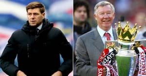 Steven Gerrard Is Compared To Sir Alex Ferguson For 'World-Class' Management Skills
