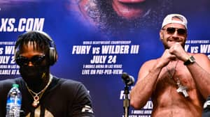 Deontay Wilder Refused To Answer A Single Question During His Press Conference With Tyson Fury