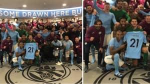 Manchester City Dedicate Tottenham Victory To David Silva