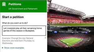 Liverpool Fans Want To Play Their Remaining Home Games At The Puskas Arena Instead Of Anfield