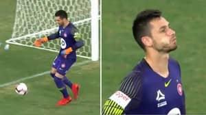 What Western Sydney Wanderers Goalkeeper Did In 95th Minute To Gift Brisbane Roar An Equaliser