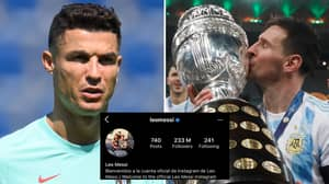 Lionel Messi Smashes Cristiano Ronaldo Record For Most-Liked Sports Photo On Instagram