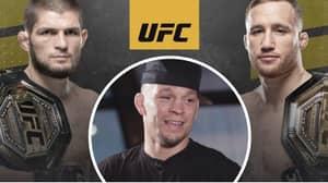 Nate Diaz Savagely Hits Out At UFC For Booking Khabib Nurmagomedov Vs. Justin Gaethje