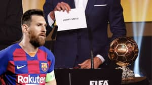 Reports In Spain Say Lionel Messi Will Win His Sixth Ballon d'Or