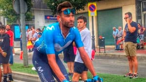 Cyclists Legs Look Hulk-Like Following Gruelling Race In Spain
