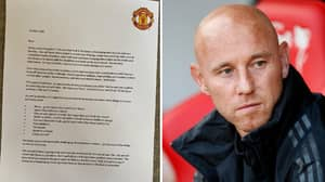 Manchester United Send Incredible Half Term Letter To Academy Players