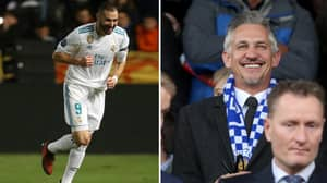 Gary Lineker Goes After Karim Benzema After His Two-Goal Performance Against APOEL